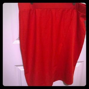Dresses & Skirts - Red shirt brand new never worn